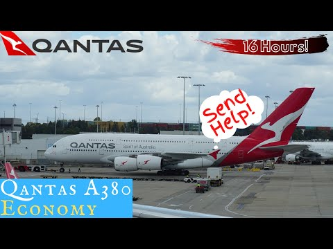 Qantas A380 ECONOMY Sydney to Dallas: Making my own first class!