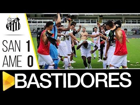 Santos 1 x 0 América-MG | BASTIDORES | Brasileirão (11/12/16)