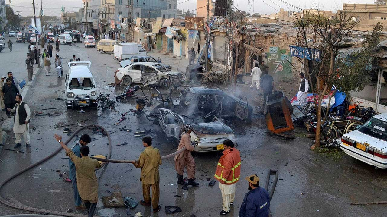 Pakistan Bomb Blast Video Today