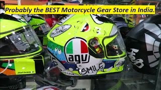 probably the best motorcycle gear store in india telangana andhra state