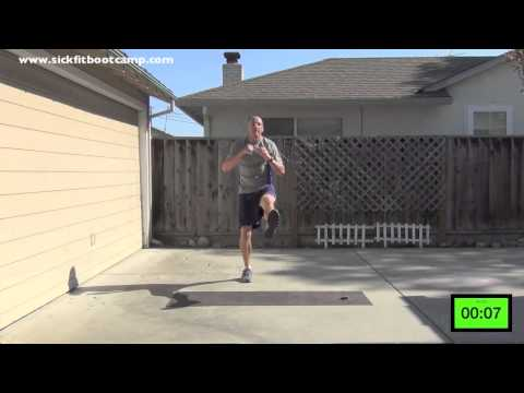 SickFit: Fit In 15 #8- 5 Exercise Bootcamp Workout