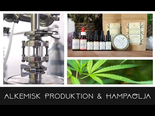Alkemisk Produktion & HampaOlja