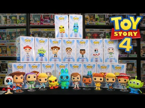 The Entire Line of Toy Story 4 Funko Pops Review