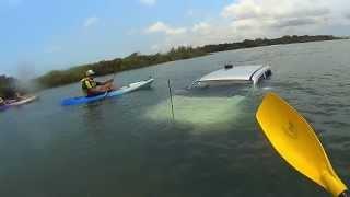 Fraser island Australia 4WD Vehicle Casualty