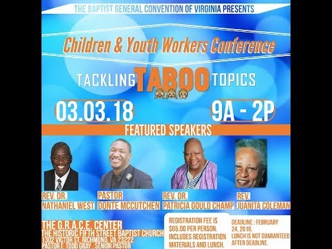 Children and Youth Workers 2018 Promo