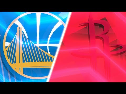 Golden State Warriors vs Houston Rockets   Western Conference Finals Game 5 - Full Game - NBA 2K18s