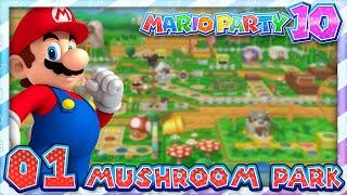 Mario Party 10: Part 01 - Mushroom Park (4 Player)