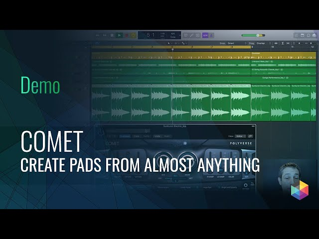 How to make Pads out of anything: Comet Reverb Demo