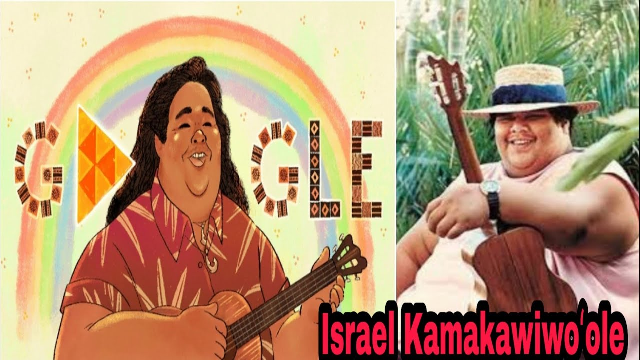 Google Doodle honors Hawaiian ukulele player Israel 'Iz ...