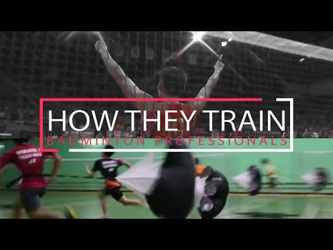 BADMINTON PROFESSIONALS - How They Train 专业球员如何训练 | Lee Chon