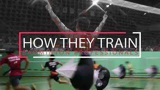 BADMINTON PROFESSIONALS - How They Train 专业球员如何训练 | Lee Chong Wei, Lin Dan, Jorgensen & More