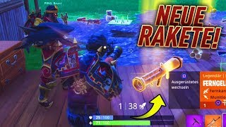 NEW RAEKETENWERFER found with iCrimax then this happens! 😍 Fortnite Battle Royale WakezGaming