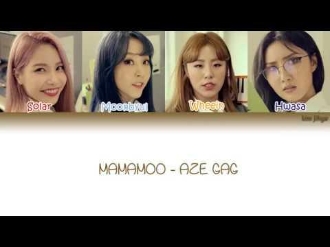 Mamamoo (마마무) - AZE GAG (아재개그) Lyrics (Han|Rom|Eng|COLOR CODED)