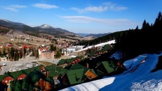 БУКОВЕЛЬ 2012 апрель - Горнолыжный курорт в Карпатах(05,11апреля 2012 Mountain ski resort BUKOVEL april SONY DSC-TX10 SONY DSC-W350., 2012-04-19T21:31:35.000Z)