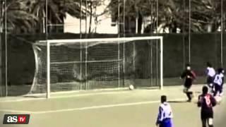 Cristiano, Messi, Bale y Neymar eran cracks desde pequeños
