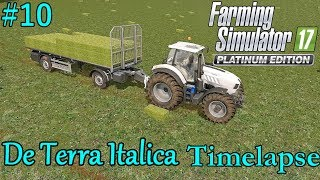 FS17 Timelapse, De Terra Italica #10: Gathering Bales!