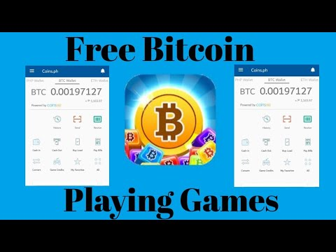 FREE BITCOIN 2021 | Playing Games And Earn Bitcoin | 100% FREE LEGIT