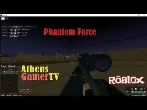 Phantom Forces Roblox : AthensGamerTV by Athens Thanakrit