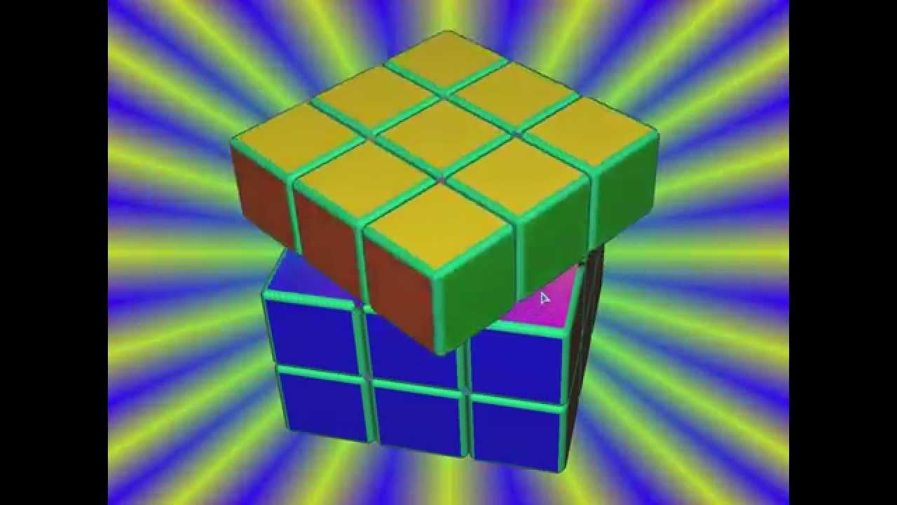 собрать кубик рубик 3x3 схема