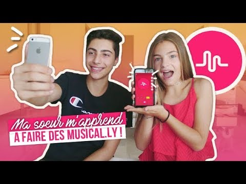 MA SOEUR M'APPREND A FAIRE DES MUSICAL.LY