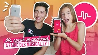 MA SOEUR M'APPREND A FAIRE DES MUSICAL.LY Video