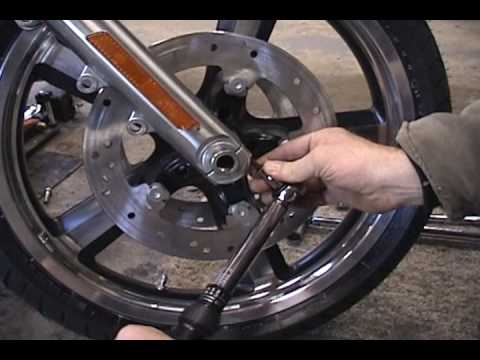 Front wheel install - YouTube