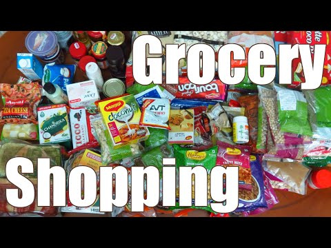 Monthly Grocery Shopping List For Indian Cooking - Pantry Essentials   Simple Indian Recipes #40