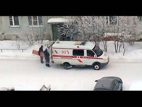 Сосногорск. Перевозка мебели на машине «Скорой помощи»