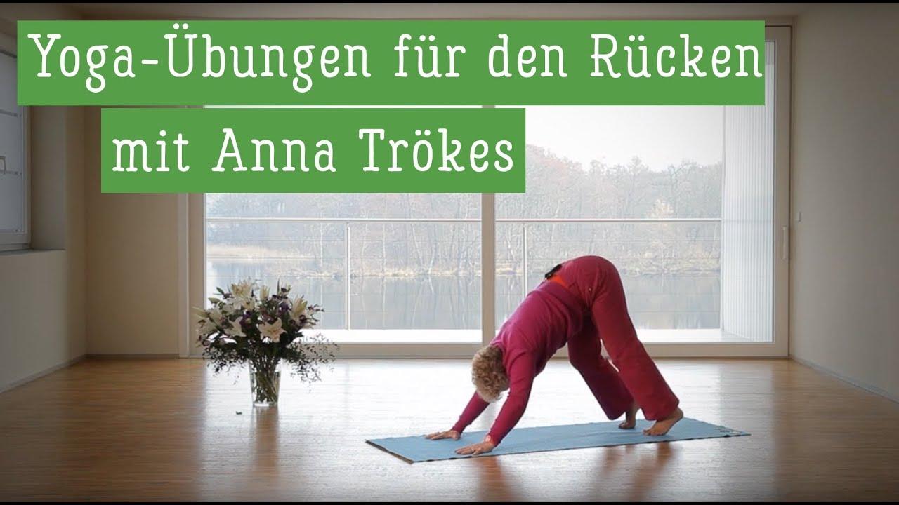Yoga für den Rücken - Yoga Übungen für den Rücken - Yoga..