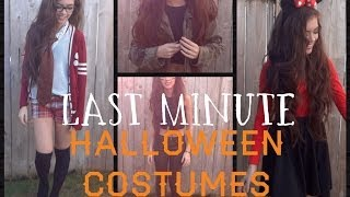 3 Last Minute Halloween Costumes Thumbnail