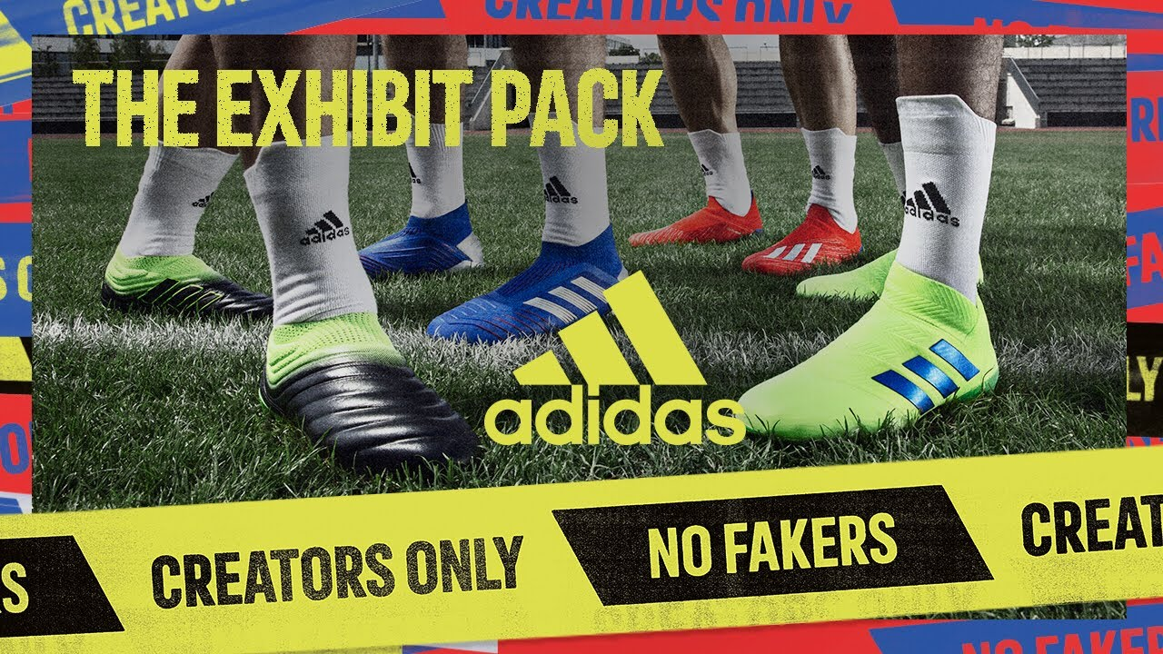 adidas Football launches updated colourway for Exhibit Pack