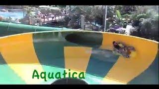 Repeat youtube video Aquatica waterpark all slides POV