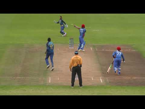 Cricket World TV  Sri Lanka v Afghanistan Highlights  ICC u19 World Cup 2018