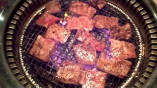 西区交流スペース新年会は焼き肉でした。