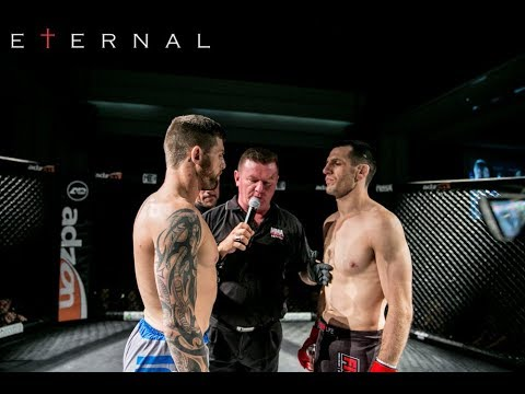 ETERNAL MMA 29 - CALLAN POTTER VS BRENTIN MUMFORD - ETERNAL LIGHTWEIGHT TITLE MMA FIGHT VIDEO