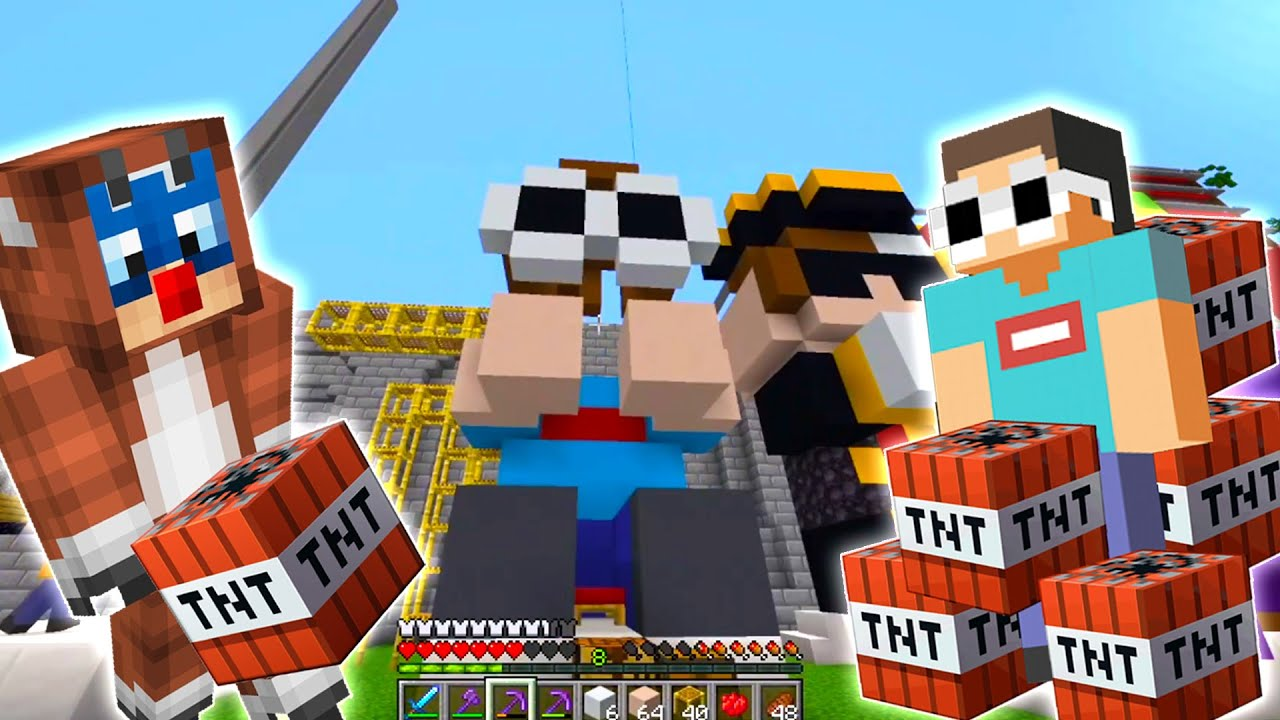"""Download Callahan """"BLOWN"""" Away George's Statue in Dream SMP"""