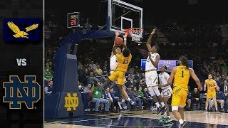 Coppin State vs. Notre Dame Basketball Highlights (2018-19)