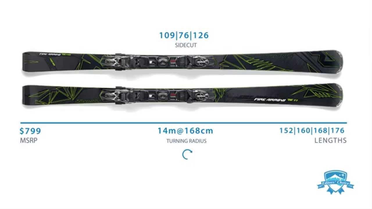 2015 Nordica Fire Arrow 76 Ti - Ski Review