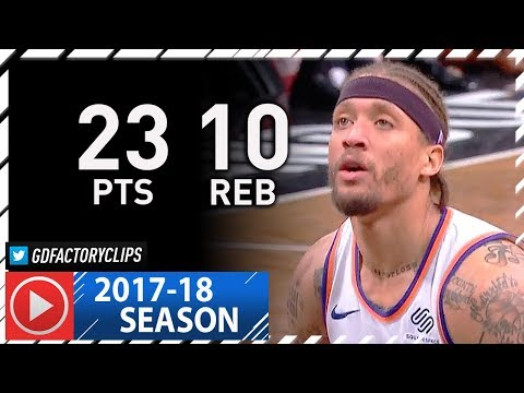 Michael Beasley Full Highlights vs Nets (2018.01.15) - 23 Pts, 10 Reb, 2 Blks off the Bench