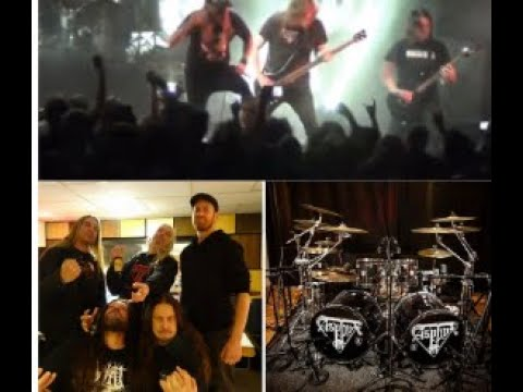 At The Gates and Asphyx are both working on new albums..! At the Gates video from studio..!