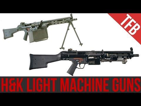 H&K's Light Machine Guns: Rare But Effective (HK21/23 & HK11)