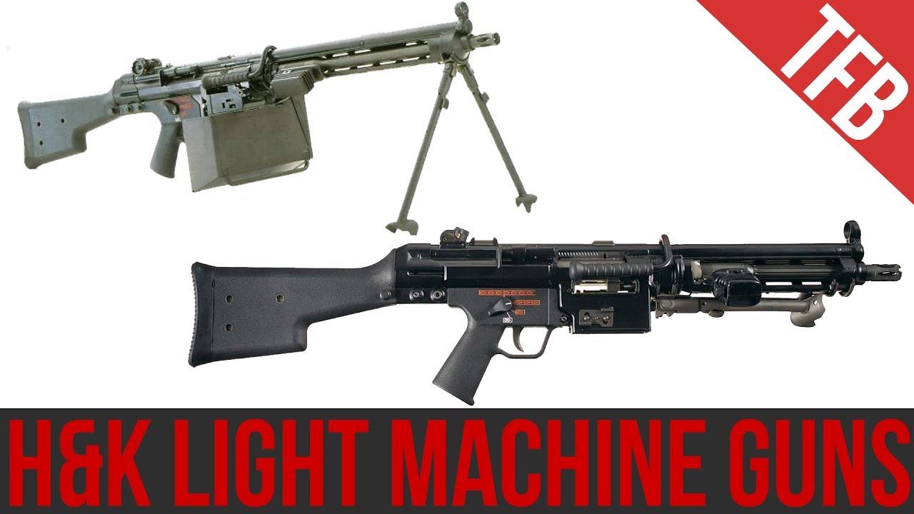 H&K's Light Machine Guns: Rare but Effective (HK21/23 ...