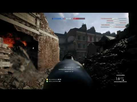 Battlefield 1 online multiplayer playing with irish fighter putting in work