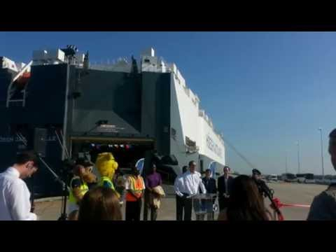 RoRo Shipping from Jacksonville, Florida