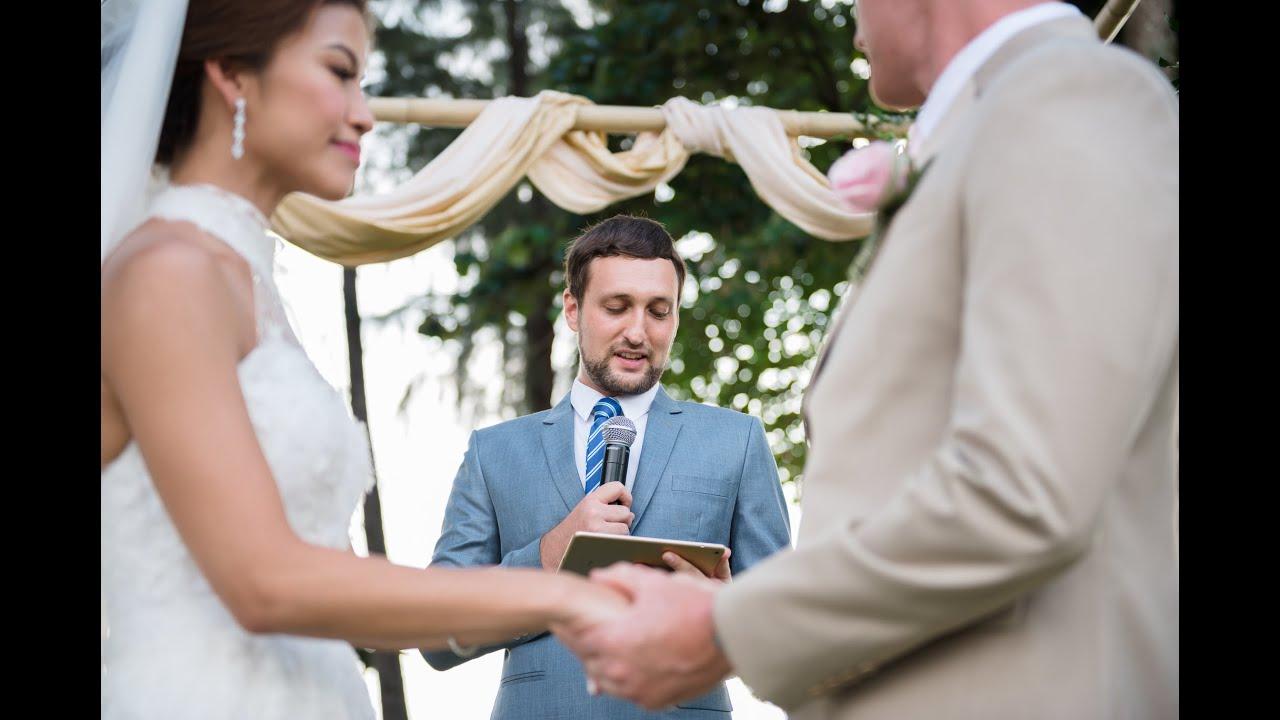 Wedding Officant Thailand & The Wedding Bliss Thailand - Marriage of Marilyn + Preston Highlights