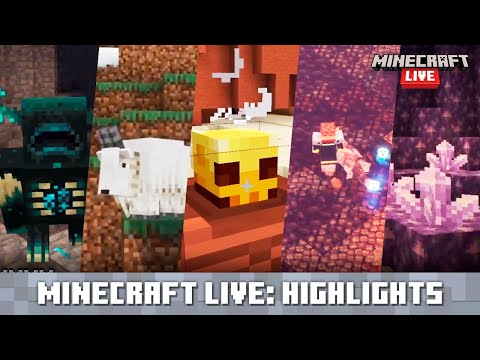 Minecraft Live: Update Highlights