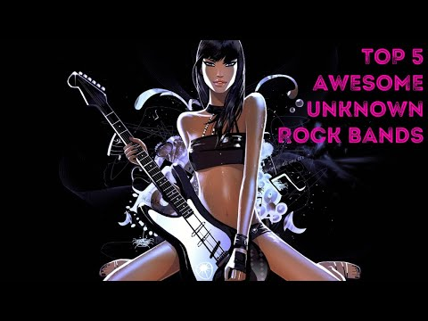 Top 5 Awesome Unknown ROCK BANDS #1