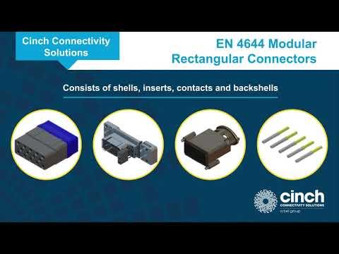 Cinch Connectivity Solutions C-ENX™ Modular Rectangular Connectors
