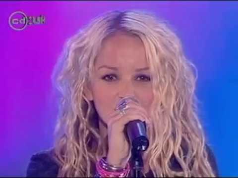 Jennifer Ellison  Bye Bye Boy Live at CDUK 24 Jul 04