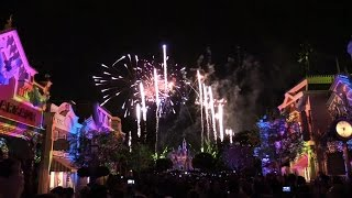FULL Disneyland Forever fireworks debut with Main Street projections for 60th anniversary